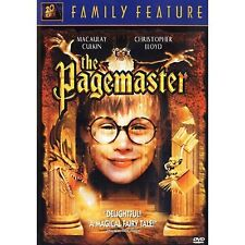 The Pagemaster (DVD, Sensormatic) Macaulay Culkin NEW