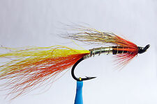 1 x mouche Saumon CASCADE SINGLE hook salmon fly fliegen steelhead hairwing