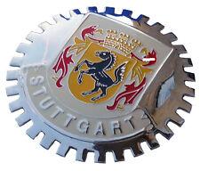 Stuttgart (Germany) car grille badge emblem 2nd version