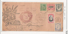 Tonga: Cover Tin Can Canoe Mail with nice drawing. amazing. TG084