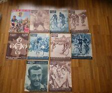 10x MIROIR SPRINT Special TOUR DE FRANCE 1951 Cyclisme