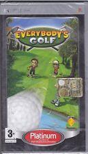 PSP PlayStation Portable **EVERYBODY'S GOLF 1** nuovo sigillato italiano
