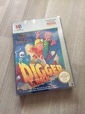 Digger T. Rock » Nintendo NES Spiel Classic CIB Komplett Anleitung Zustand Top