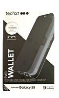 Original Tech 21 Evo Wallet Drop Protection Case for Samsung Galaxy S8 - Black