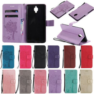 Leather Case Stand Card Slot Magnetic Flip Cover For OnePlus 5/5T/ 3/3T/6/6T/7/8
