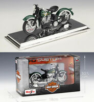 MAISTO 1:18 Harley Davidson 1936 EL Knucklehead MOTORCYCLE BIKE MODEL Toy NIB