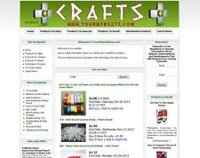 ART & CRAFT - FULLY AUTOMATED AFFILIATE STORE BUSINESS WEBSITE FOR SALE