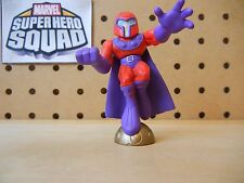 Marvel Super Hero Squad MAGNETO Floating on Bronze Orb from Danger Room Debacle