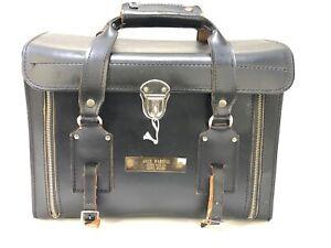 Vernon PRO-1300 Vintage Film Camera Case Bag Zipper Lock and Key Leather Japan