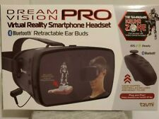 Dream Vision Pro VR Headset w/Bluetooth Ear Buds & Remote NEW in BOX!