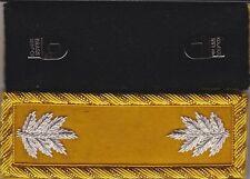 Civil War Cavalry Lieut. Colonel Shoulder Boards - Straps w/Clips & Free Coin