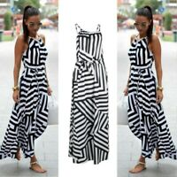Fashion Women Summer Dress Boho Maxi Long Sundress Evening Party Dress