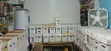 1 box lot 50 OLD COMICS MARVEL DC hulk   flash batman jla spiderman arrow thor