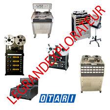 Ultimate Otari Operation Repair Service manual Schematics    180 PDF manuals DVD