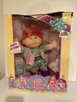"""1991 CABBAGE PATCH Birthday Kids 16"""" Girl Doll Red Hair New in Box"""