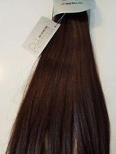 "1 PKG Rebecca 100% REAL Human Hair Italian Silky 12"" #2 Weaving 100G extensions"