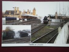 POSTCARD MISSION ACCOMPLISHED NO.73096 HEADS EXCURSION FROM LONDON TO LINCOLN