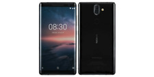 "Nokia 8 Sirocco 6/128GB Black 5.5""  P-OLED Snapdragon 835 Android Phone By FedEx"