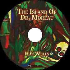 The Island of Doctor Moreau - Unabridged MP3 CD Audiobook in paper sleeve