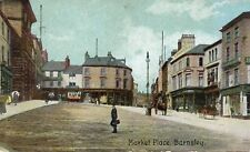 Market Place - Barnsley - Yorkshire - 1910 Postcard (348)