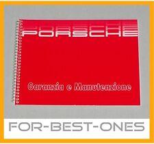 NEU Serviceheft Pflegepass Porsche 911 964 Carrera Turbo 928 944 italienisch