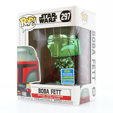 Funko POP! Star Wars - Boba Fett (Green Chrome) 2019 SDCC Shared Exclusive