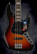 Fender American Elite Jazz Bass - 3-color Sunburst 4-string Electric Bass