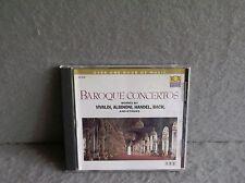 BAROQUE CONCERTOS Classical Vox CD VIVALDI TORELLI HANDEL RICHTER TELEMANN Album