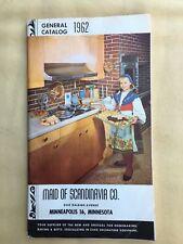 Vintage Maid of Scandinavia merch sales product catalog 1962 cake decor baking