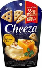 glico Cheeza 40g ×5 Packs Raw Cheese Flavor Camembert cheese From Japan F/S