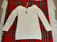 Isabel Marant Long Sleeve Alpaca Blend White Top Size 1