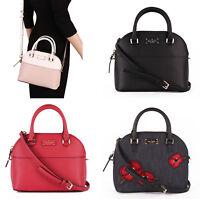 NWT Kate Spade Grove Street Mini Carli Leather / Denim Satchel Crossbody Bag