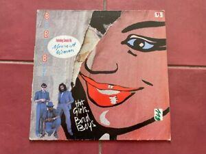 """Bad Boys Blue - Hot Girls, Bad Boys (12"""" LP) Ariola 1985  Deutsche Pressung"""