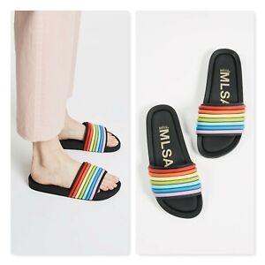 MELISSA   Womens Beach 3DB Rain Slip on Slides  / shoes [ EUR 41/42 or US 10 ]