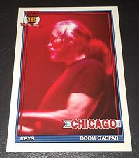 PEARL JAM Wrigley Baseball Card - Boom Gaspar 8 red - 2016 Chicago pack cubs