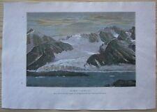 1880 Reclus print FOUL BAY, SPITSBERGEN (SVALBARD), NORWAY (#22)
