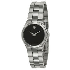 NEW!! Movado Women's 'Movado Collection' Stainless Steel Swiss Quartz Watch