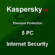 Kaspersky seguridad de Internet 2018 multi Device 5 usuarios 1 Año licencia