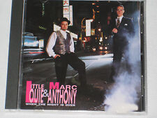 LITTLE LOUIE & MARC ANTONY WHEN THE NIGHT IS OVER CD 11 SONGS MINT CONDITION