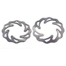 For SX SXF EXC EXCF XC XCW XCF XCFW SMR MXC KTM Front + Rear Brake Discs Rotors