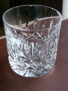 Waterford Crystal LISMORE Whiskey Tumbler  Stamped