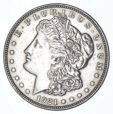 1921 Morgan Silver Dollar - Last Year Issue 90% $1 Bullion *014