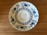 J&G Meakin Classic Series Blue Nordic Saucer Plate with Gift  Aesop Soap Vintage