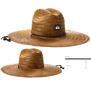 Quiksilver Men's Pierside Lifeguard Beach Sun Straw Hat One Size Dark Brown