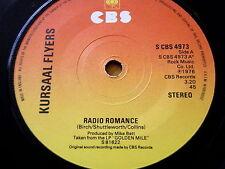 "Kursaal volantes-Radio Romance 7"" Vinilo"