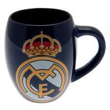 Real Madrid Fc té bañera Taza Azul Marino Copa de fútbol Café equipo de trabajo de oficina Nuevo