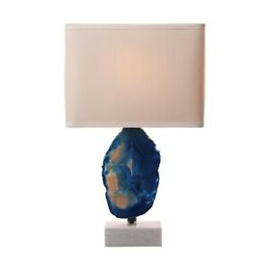 Elk Home Minoa Table Lamp, Blue Agate and Marble - 8989-033