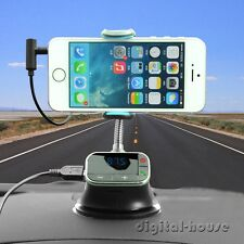 FM Transmitter Car Kit Holder Charger Handsfree MP3 Player for iPhone 6 Samsung