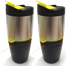 2 x TEA COFFEE TRAVEL PALLONE TAZZA ISOLATA TERMICA THERMOS TAZZA NUOVA