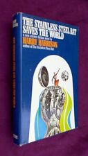 Harrison STAINLESS STEEL RAT SAVES THE WORLD HB 1st